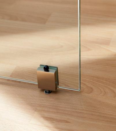 Otočné sklenené dvere – dvojkrídlové