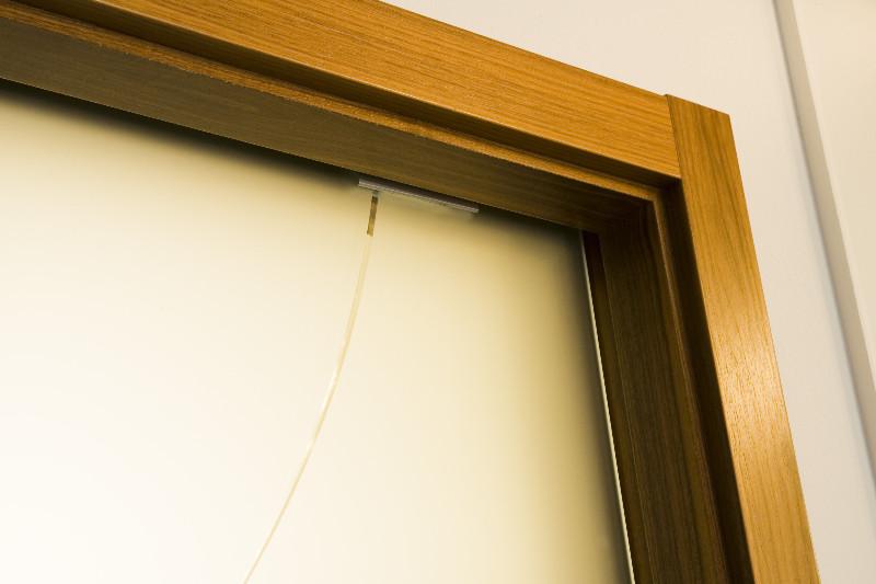 Posuvné sklenené dvere do puzdra