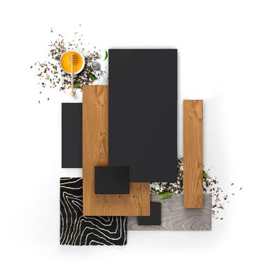 Inšpiratívne kombinácie farieb a materiálov z novej kolekcie HANÁK